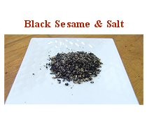 Black Sesame & Salt