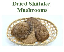 Dried Shiitake Mushrooms