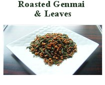Roasted Genmai and Leaves