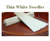 Thin White Noodles