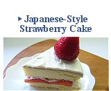 Japanese-Style Strawberry Cake