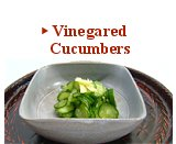 Vinegared Cucumbers