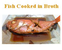 Fish Cooked In Broth