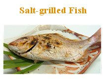Salt-Grilled Fish