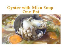 Oyster with Miso Soup One-Pot