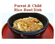 Parent & Child Rice Bowl Dish