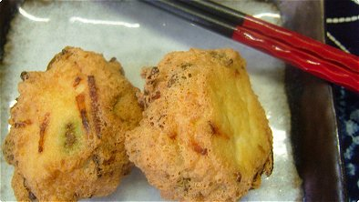 Deep-Fried Mashed Tofu & Vegetable Balls