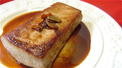 Steak Tuna with Soy Sauce & Garlic