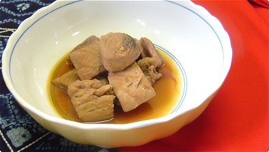 Tuna Simmered in Soy Sauce