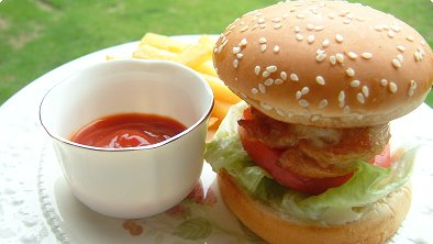 Teriyaki Chicken Burgers