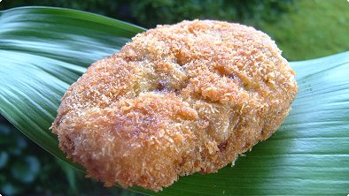 Deep-Fried Ground Beef Cutlets