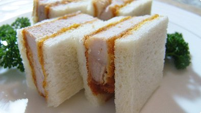 Pork Cutlets Sandwich