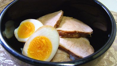 Char Siu & Boiled Egg Bowl