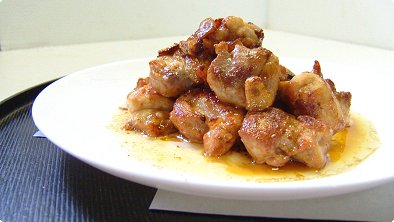 Chicken Saute with Butter, Garlic & Soy Sauce