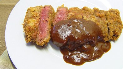 Deep-Fried Breaded Beef Cutlets