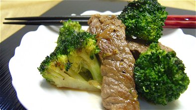 Seared Beef & Broccoli with Sweetened Soy Sauce