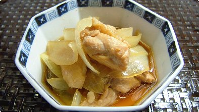 Braised Chicken & Onion