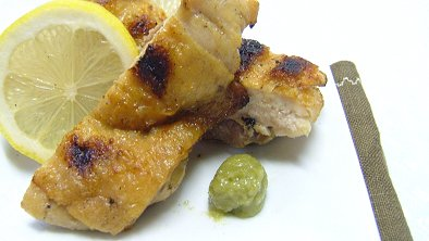Grilled Chicken with Wasabi