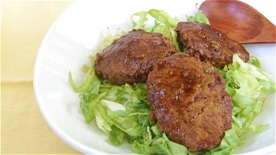 Japanese-Style Stewed Hamburger Steak Bowl