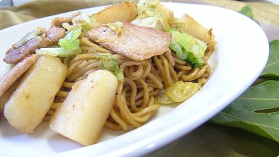 Fried Noodles with Potato