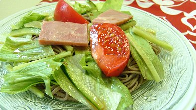 Salad with Buckwheat Noodles
