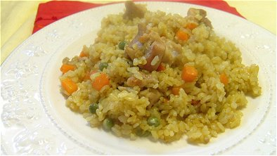 Japanese-Style Curry Pilaf