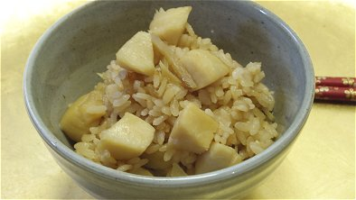 Scallops & Ginger Seasoned Rice
