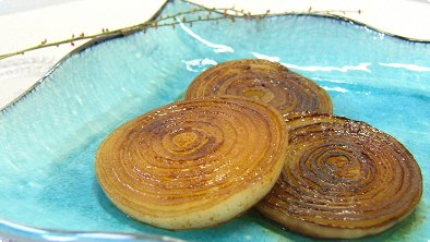 Sauteed Onion with Soy Sauce