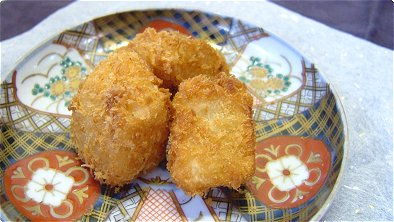 Deep-Fried Breaded Potatoes