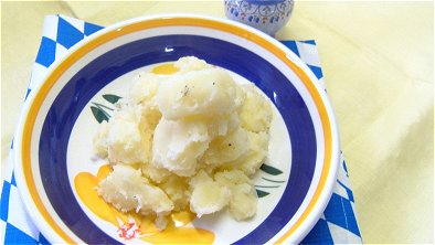 Frosted Potatoes with Butter & Cheese