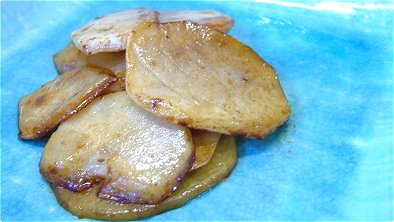 Seared Potato with Butter & Soy Sauce