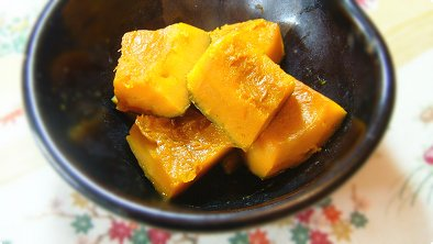 simmered pumpkin